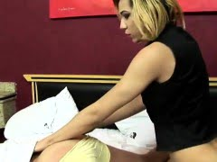 Young Tgirl Gets Fucked...