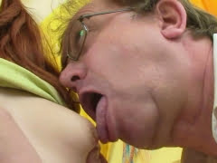 Horny, old dude fucked his...